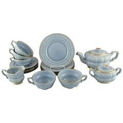 Arthur Percy for Upsala-Ekeby / Gefle, Complete Art Deco Grand Tea Service