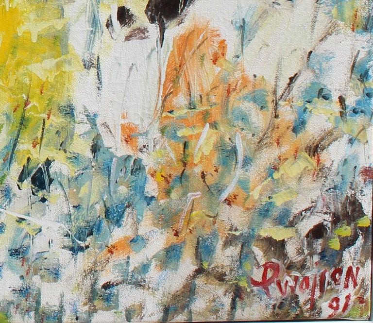 Belport NY, Landscape, archived number 3784 - Abstract Expressionist Painting by Arthur Pinajian