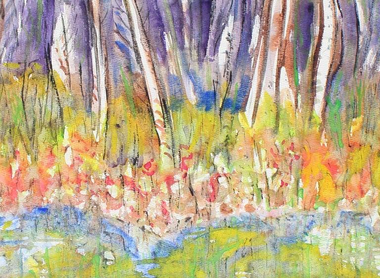 Untitled, No. 455 - Painting by Arthur Pinajian