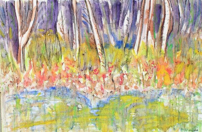 Arthur Pinajian Landscape Painting - Untitled, No. 455