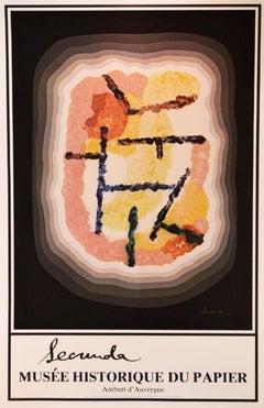 """Mus'ee Historique du Papier, Ambert D'Auvergne: """"The Lost Continent"""" 1981"""