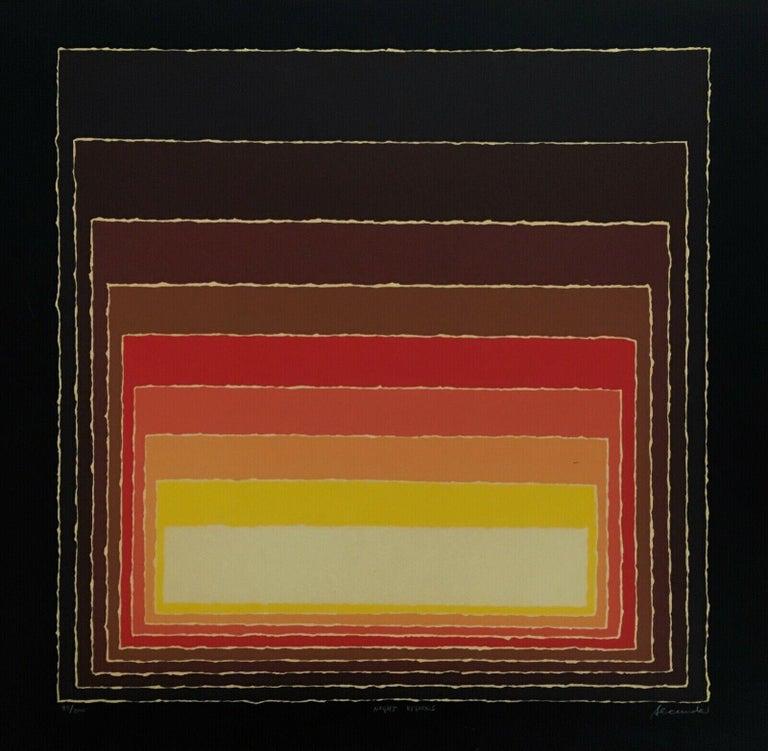 Night Visions, Limited Edition Silkscreen, Arthur Secunda - Print by Arthur Secunda