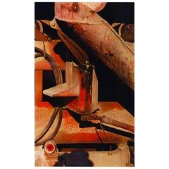 Arthur Siegel '1913-1978' Cement Mixer 1953, Abstract Dye Transfer Print, Signed