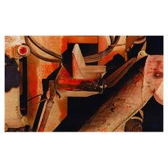 Arthur Siegel Cement Mixer 1953, Abstract Dye Transfer Print, Signed