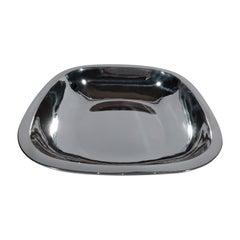 Arthur Stone Art Deco Handmade Sterling Silver Bowl