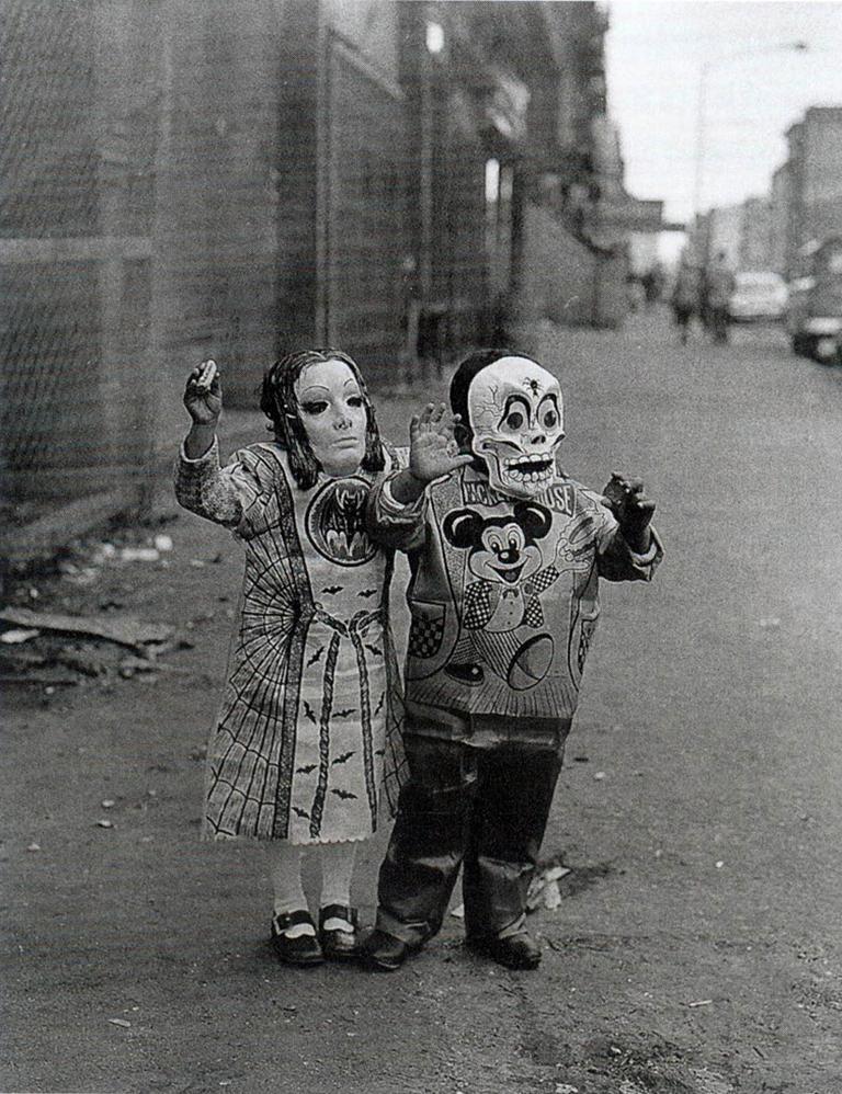 Masked Children, 110th Street