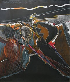 Untitled - Prisma Drawing with Abstract Movement