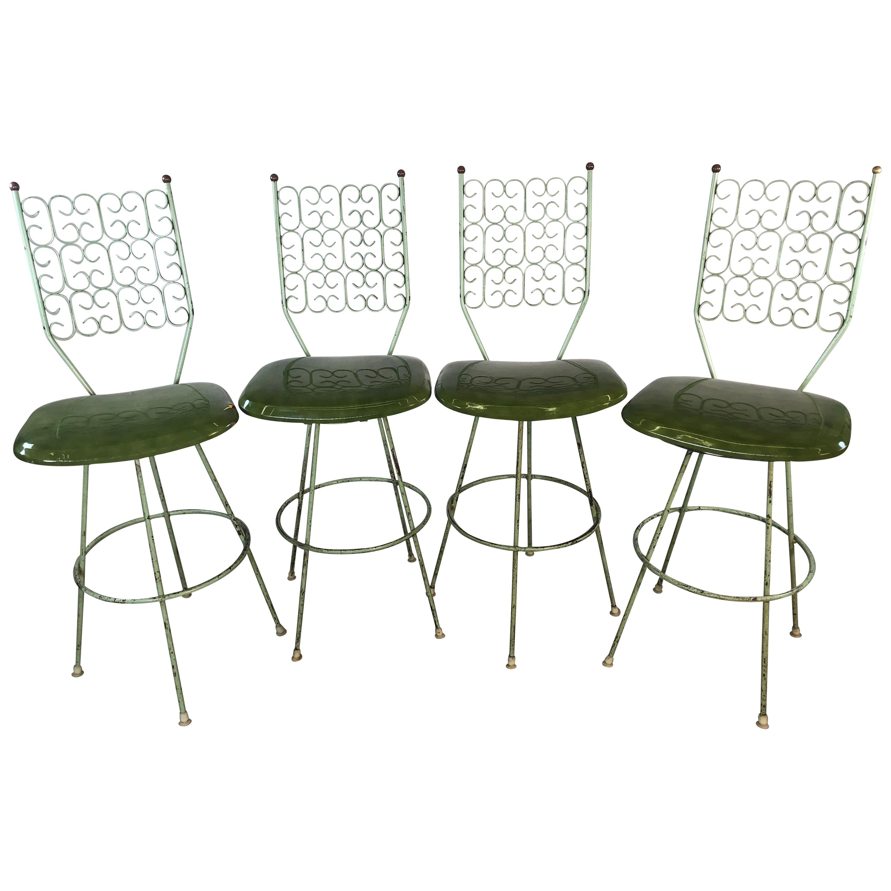 Merveilleux Arthur Umanoff Bar Stools By Boyeur Scott Furniture Co Granada Collection