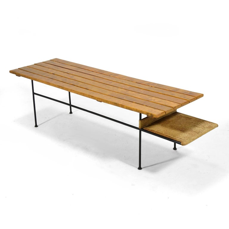 Arthur Umanoff Coffee Table or Bench For Sale 3
