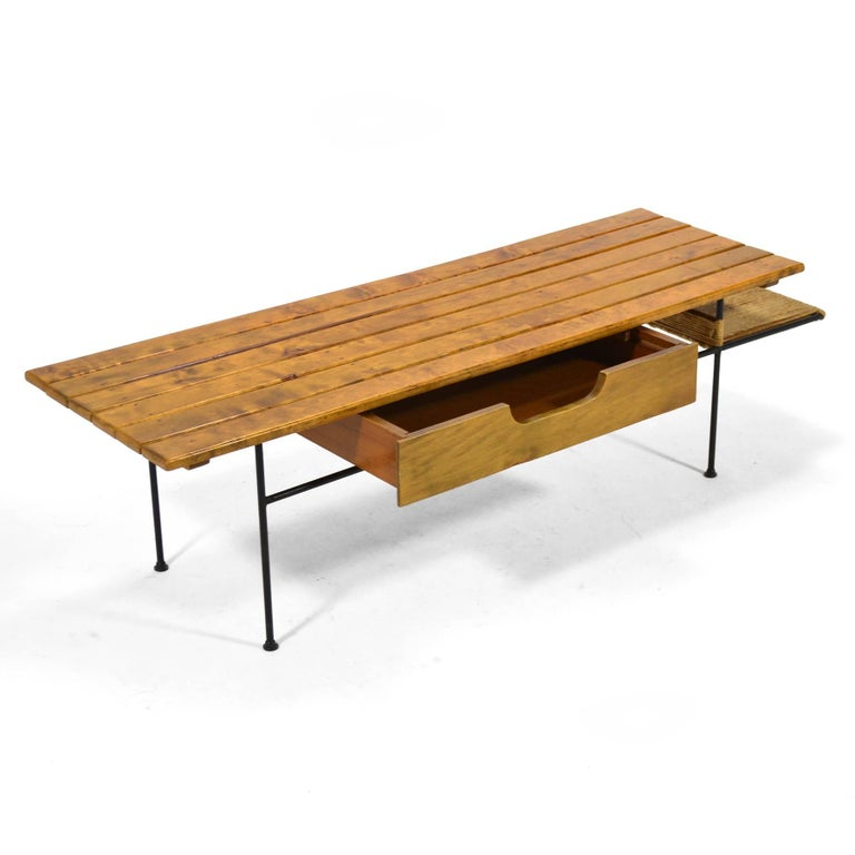 Mid-20th Century Arthur Umanoff Coffee Table or Bench For Sale