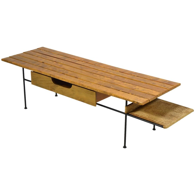 Arthur Umanoff Coffee Table or Bench For Sale