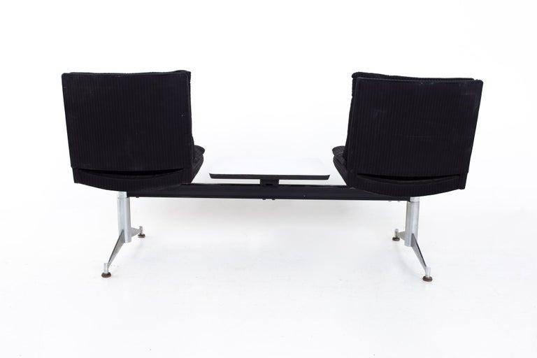 Arthur Umanoff for Madison Furniture Mid Century Modular 2 Seater Bench For Sale 6