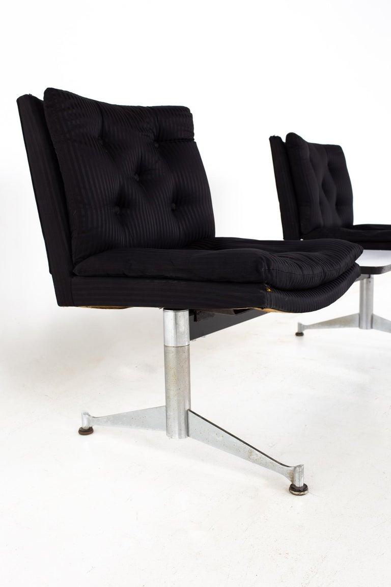 American Arthur Umanoff for Madison Furniture Mid Century Modular 2 Seater Bench For Sale