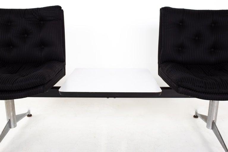 Arthur Umanoff for Madison Furniture Mid Century Modular 2 Seater Bench For Sale 1