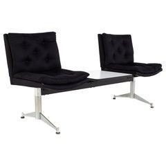 Arthur Umanoff for Madison Furniture Mid Century Modular 2 Seater Bench