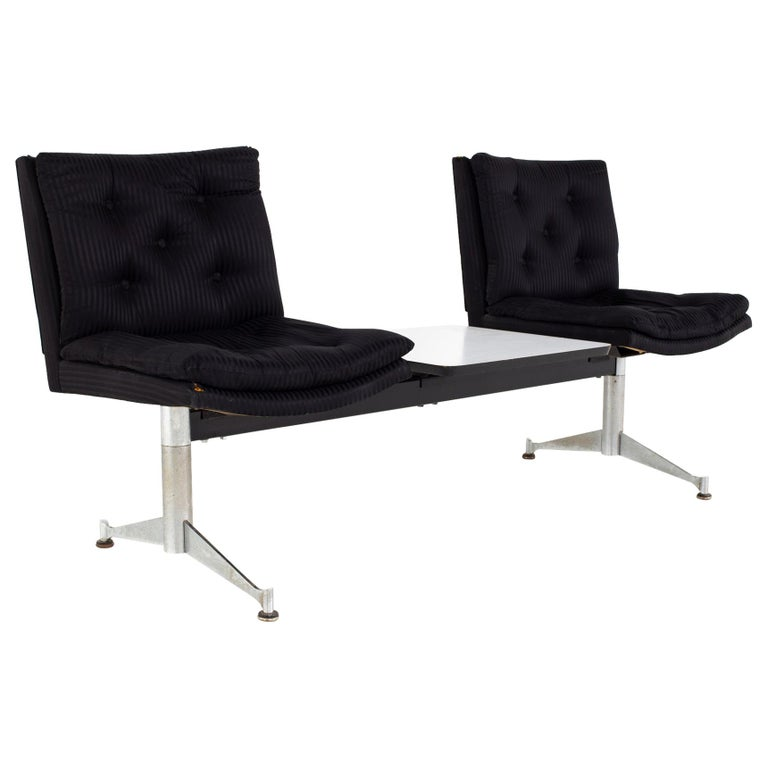 Arthur Umanoff for Madison Furniture Mid Century Modular 2 Seater Bench For Sale