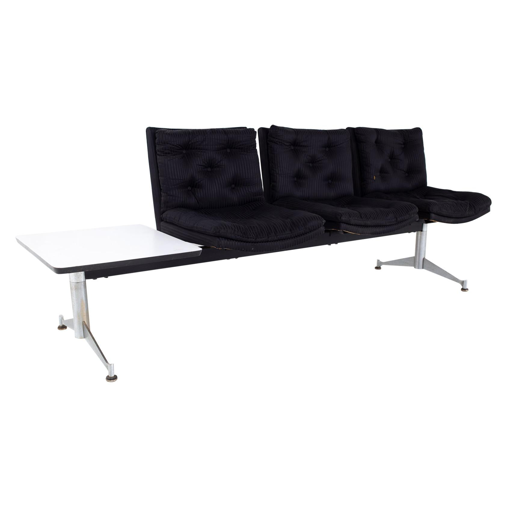 Arthur Umanoff for Madison Furniture Mid Century Modular Seated Bench