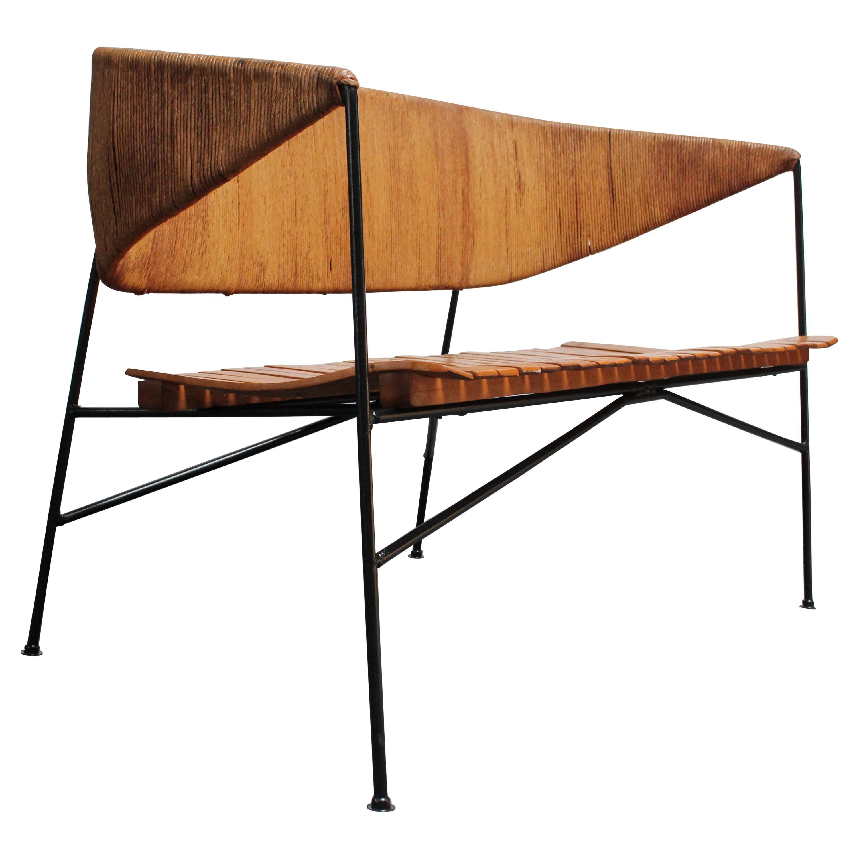 Arthur Umanoff for Shaver Howard Modernist Bench / Settee