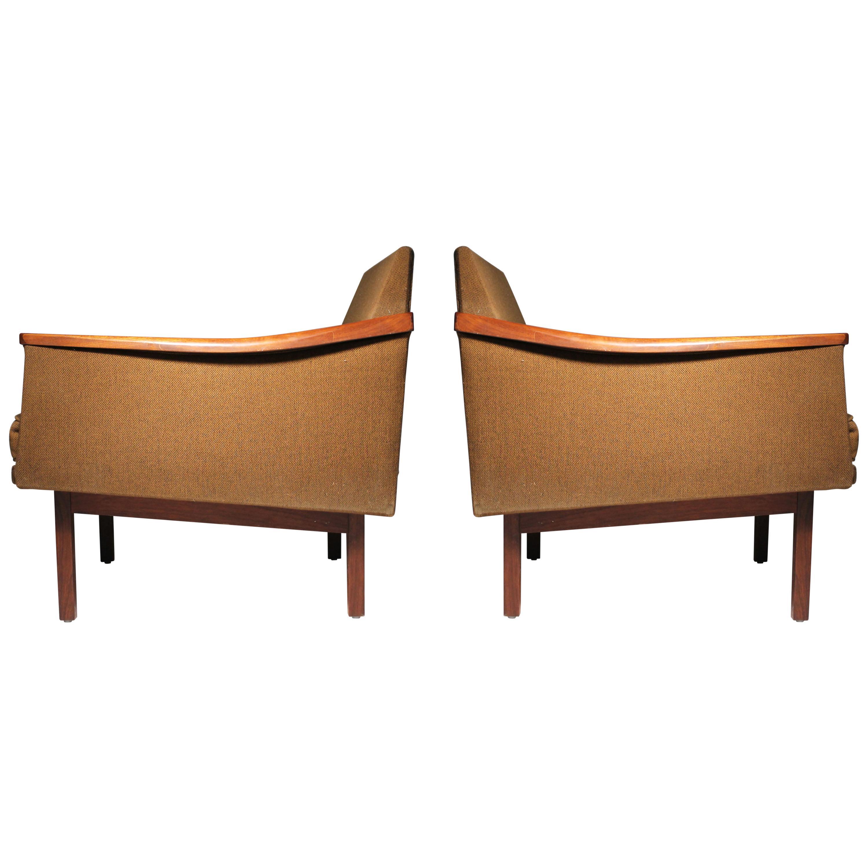 Arthur Umanoff Pair of Lounge Chairs Madison Furniture
