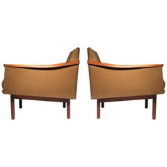 Arthur Umanoff Pair of Lounge Chairs Madison Furniture