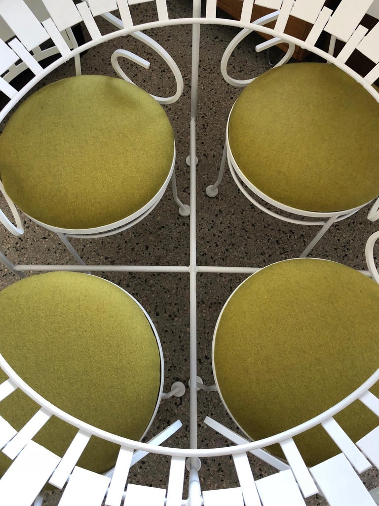 Mid-Century Modern Arthur Umanoff Patio Set Vintage 1960s For Sale