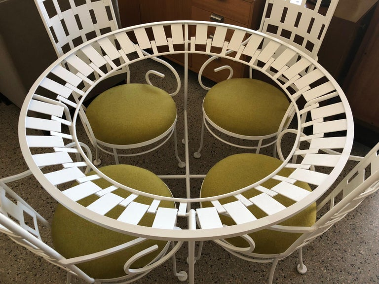 American Arthur Umanoff Patio Set Vintage 1960s For Sale