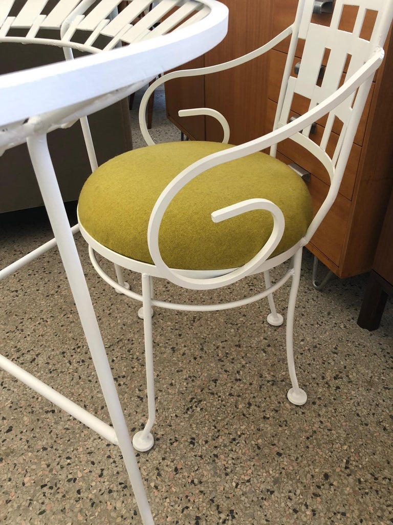 Arthur Umanoff Patio Set Vintage 1960s In Good Condition For Sale In St.Petersburg, FL