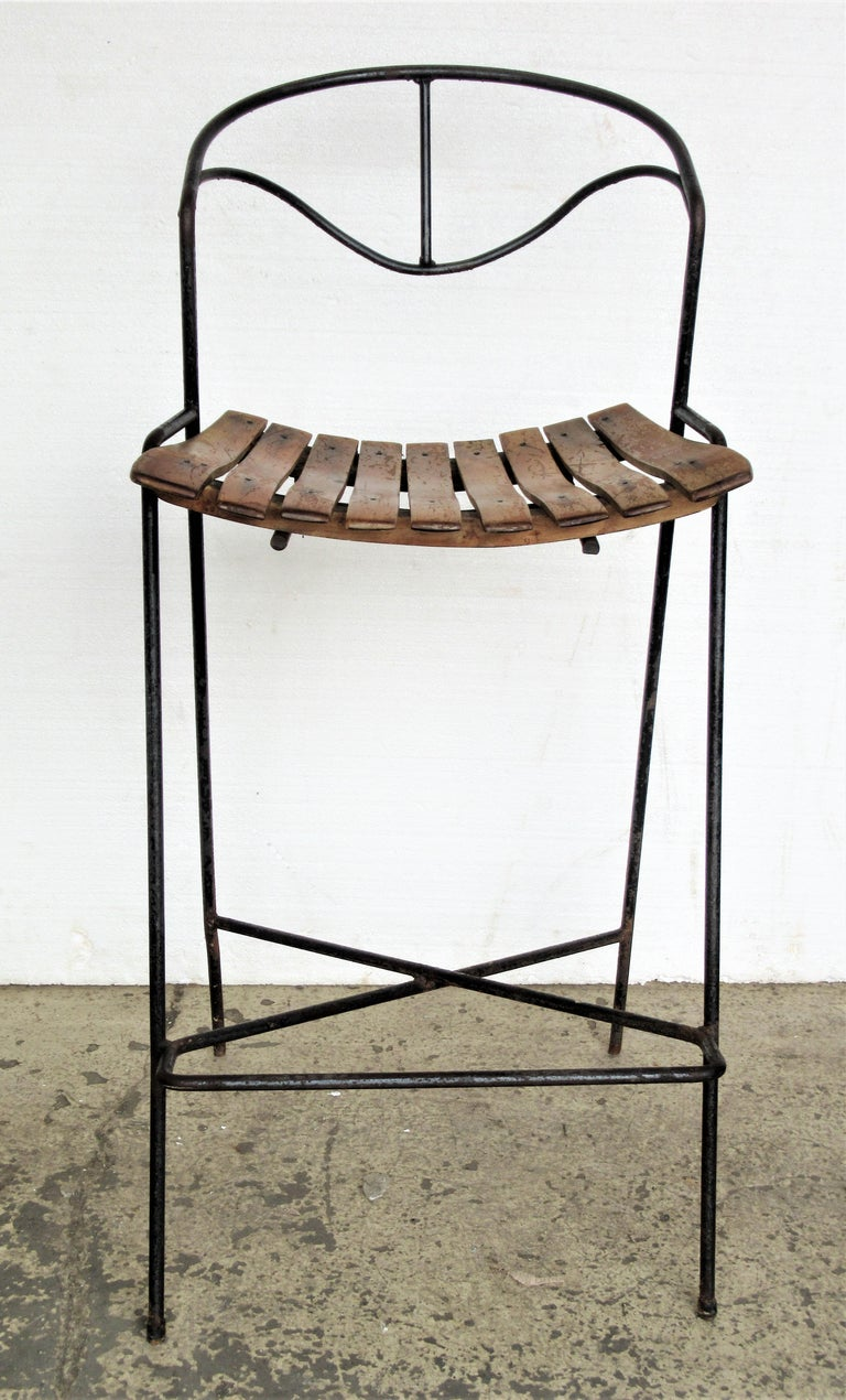 American Arthur Umanoff Stool For Sale