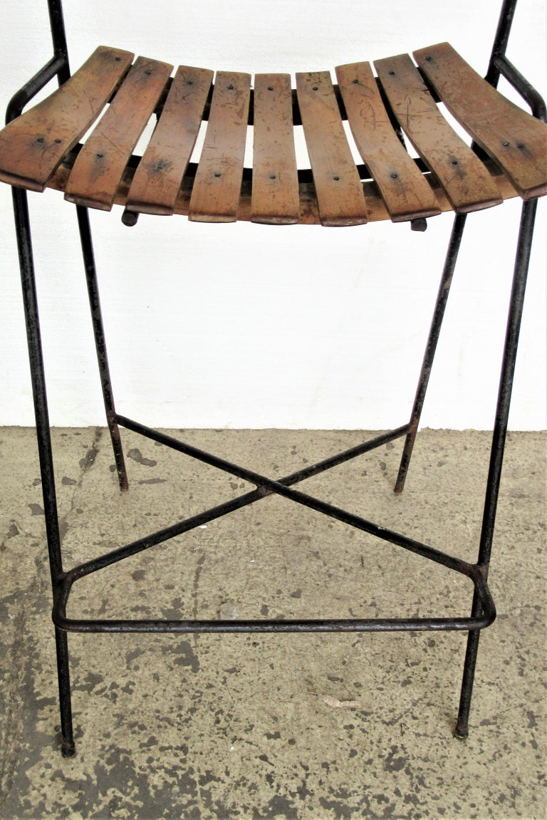 20th Century Arthur Umanoff Stool For Sale