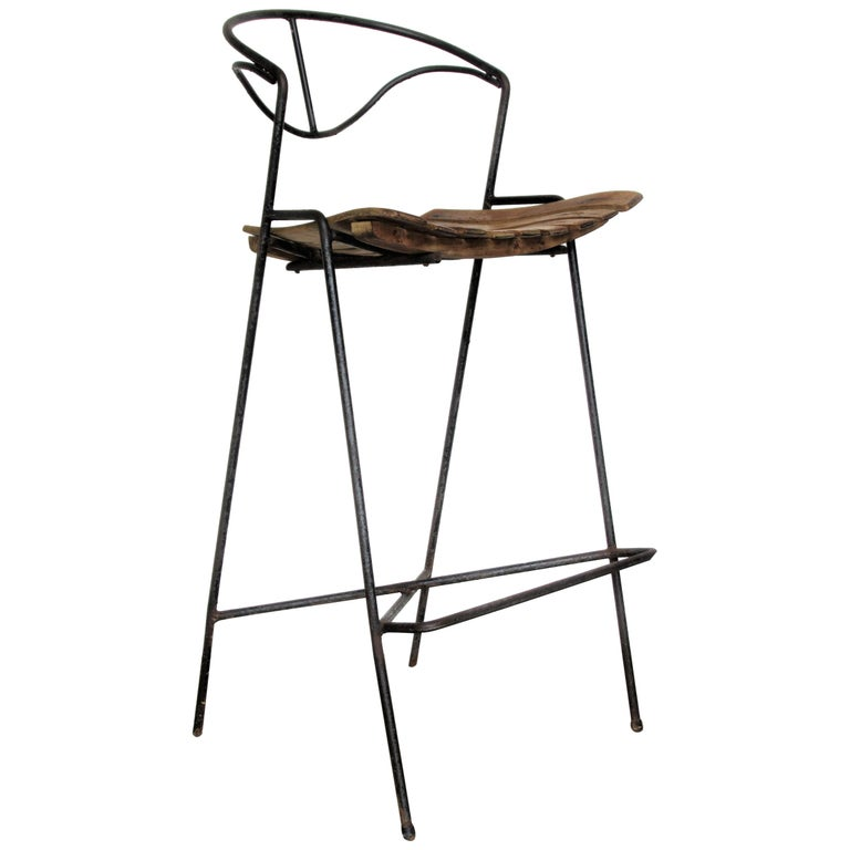Arthur Umanoff Stool For Sale
