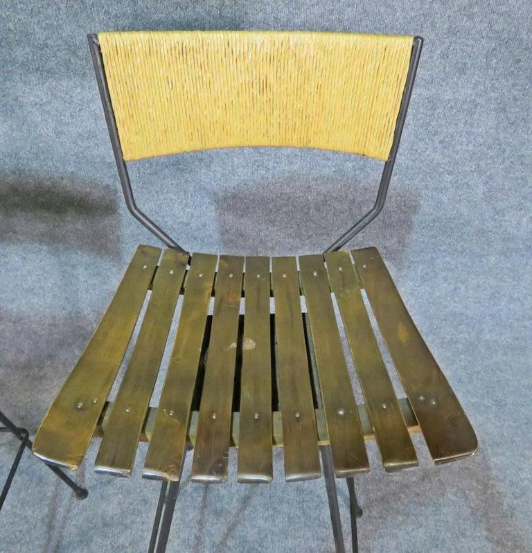 Mid-Century Modern Arthur Umanoff Stools For Sale