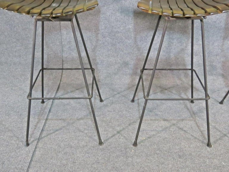 Mid-20th Century Arthur Umanoff Stools For Sale