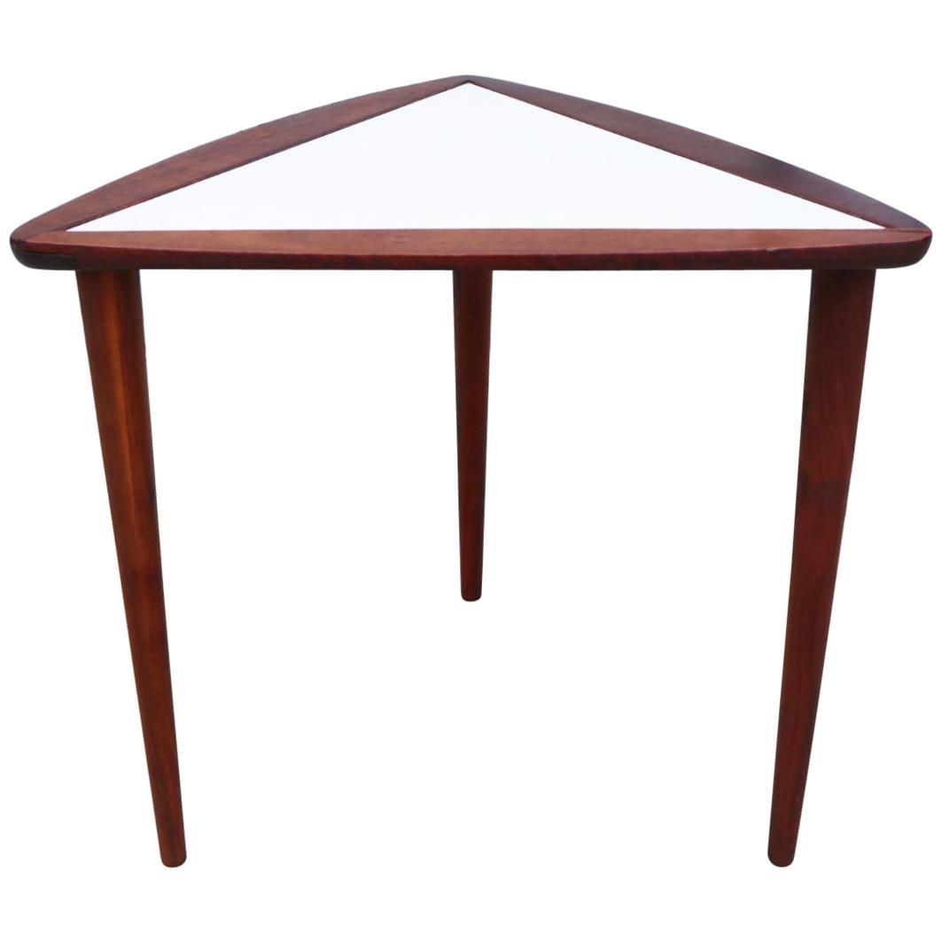 Arthur Umanoff Walnut Side Table