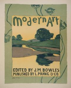 Modern Art - Lithograph (Les Maîtres de l'Affiche), 1895