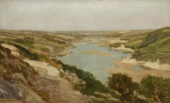 Arthur Wilde Parsons (1854-1931) - Signed Oil, River Valley