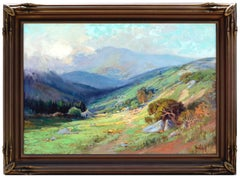 Mt. Tamalpais from Bon Tempe Lake by Arthur Best