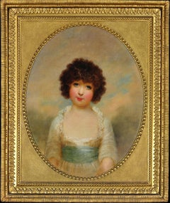 Portrait of Charlotte Shore, Daughter of 1st Lord Teignmouth. Early 19th Century
