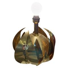 Artichoke Brass Lamp