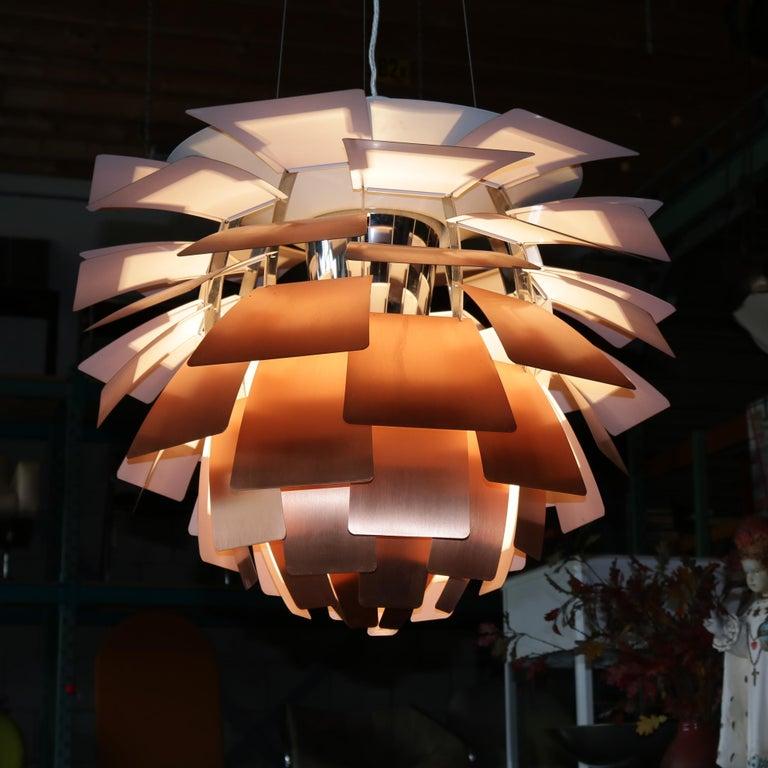 Artichoke Lamp by Poul Henningsen for Louis Poulsen, Denmark, 1960s For Sale 9