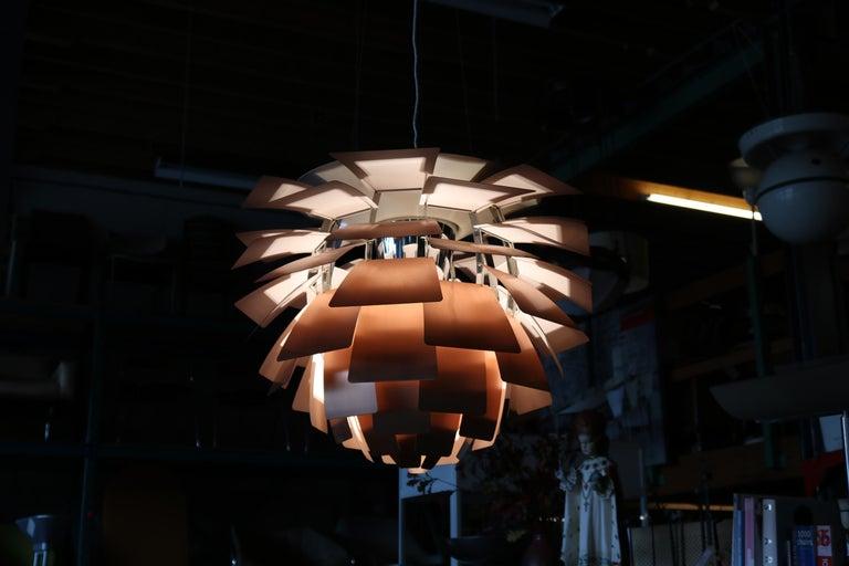 Artichoke Lamp by Poul Henningsen for Louis Poulsen, Denmark, 1960s For Sale 10