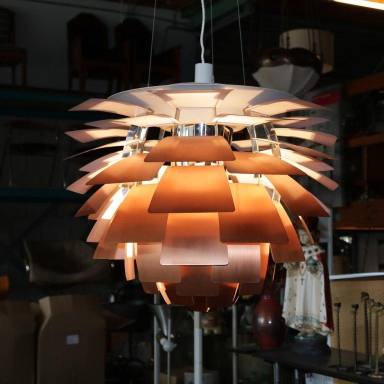 Scandinavian Modern Artichoke Lamp by Poul Henningsen for Louis Poulsen, Denmark, 1960s For Sale
