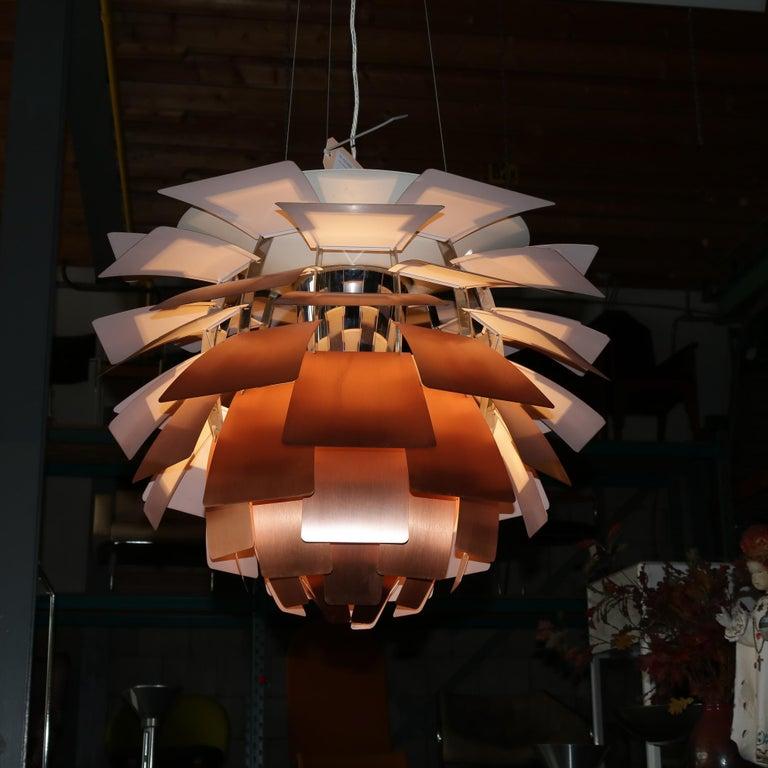 Danish Artichoke Lamp by Poul Henningsen for Louis Poulsen, Denmark, 1960s For Sale