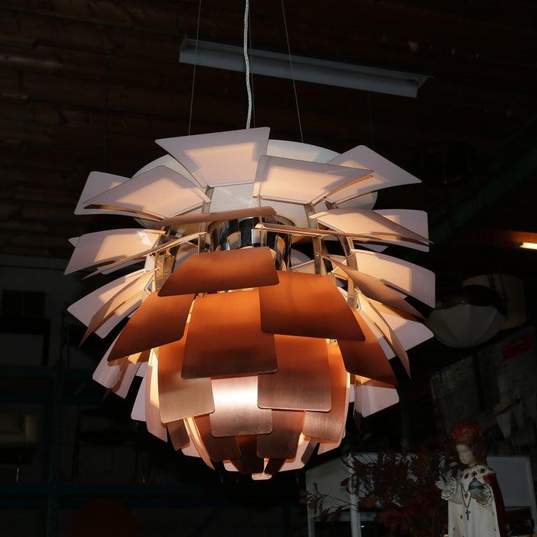 Artichoke Lamp by Poul Henningsen for Louis Poulsen, Denmark, 1960s In Good Condition For Sale In Amsterdam, NL