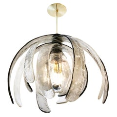 Artichoke Murano Glass Chandelier by Mazzega
