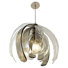 Artichoke Murano Glass Chandelier by Mazzega