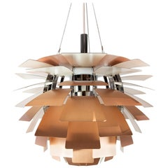 Artichoke, of Copper Designed by Poul Henningsen in 1958