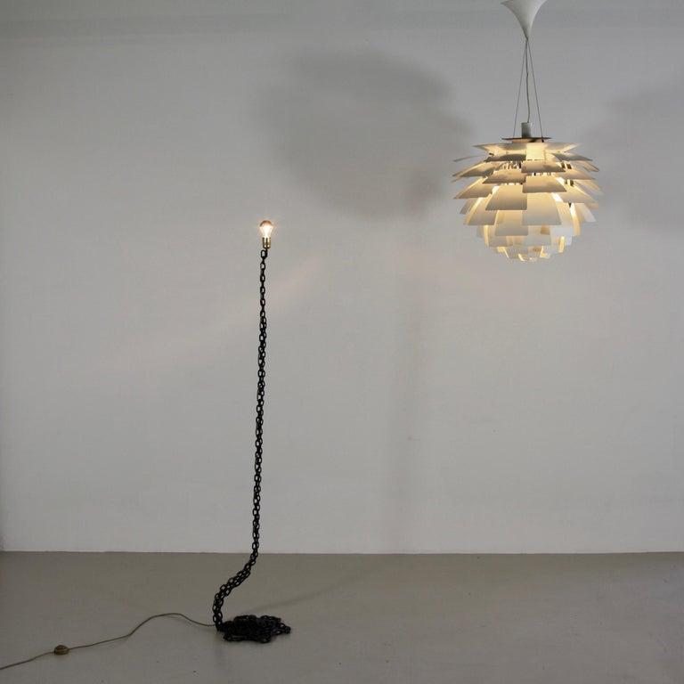 Metal Artichoke Pendant Lamp by Poul Henningsen For Sale