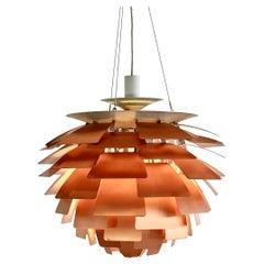 Artichoke Pendant Lamp in Copper by Poul Henningsen