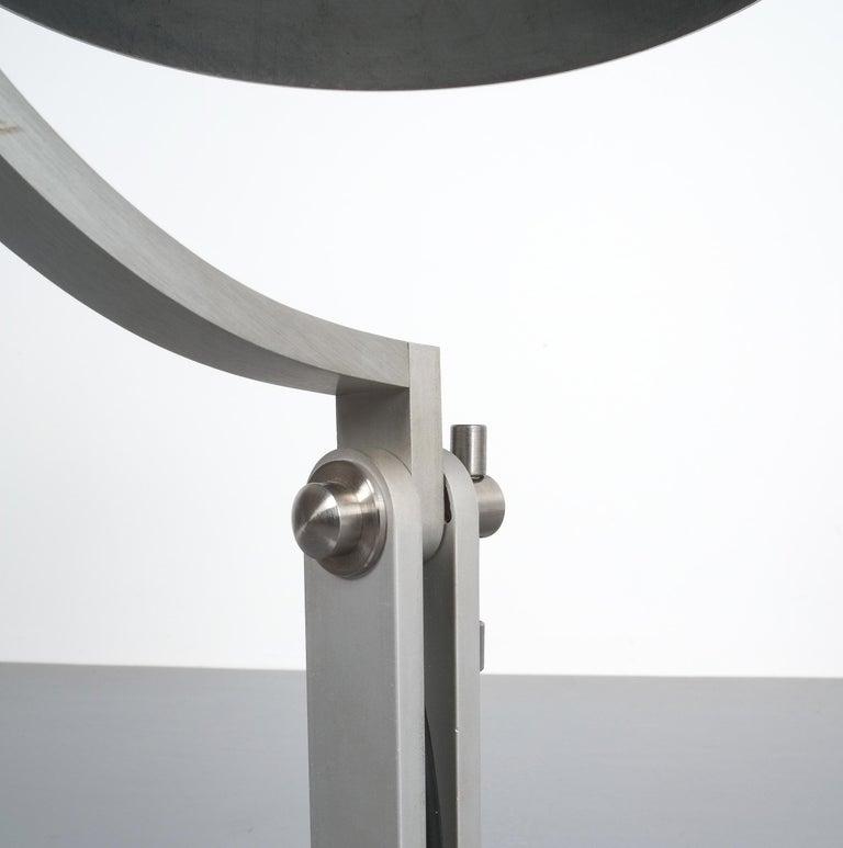 Articulate Aluminum Desk Lamp By Schliephacke For Mewa