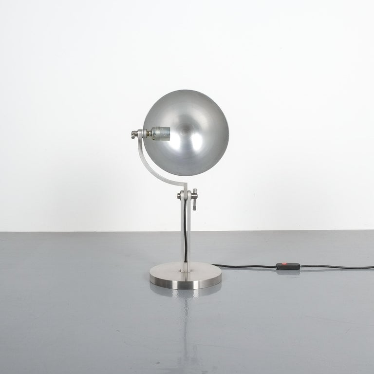 Articulate Aluminum Desk Lamp By Schliephacke For Mewa